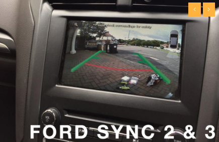 Ford SYNC 2 & SYNC 3 Camera Integration Kit