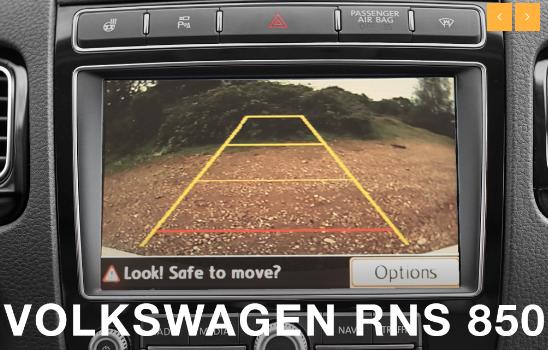 Volkswagen RGB RNS850 Touareg Camera Integration Kit