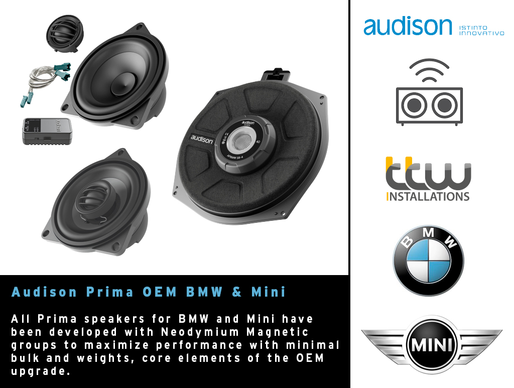 Audison Car Audio - TTW Installations - Nottingham - Derby - UK