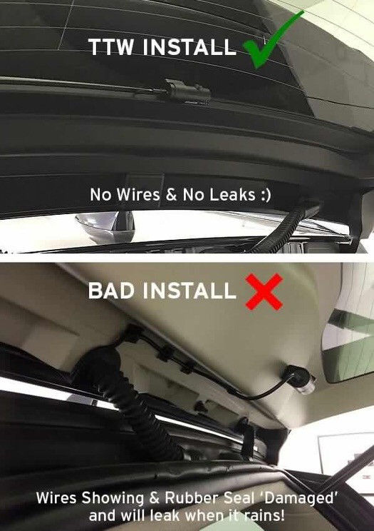 TTW Installations Install Specialists - TTW Install Vs Other Installs