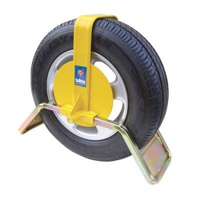 Bulldog QD44 Heavy Duty Car Wheel Clamp