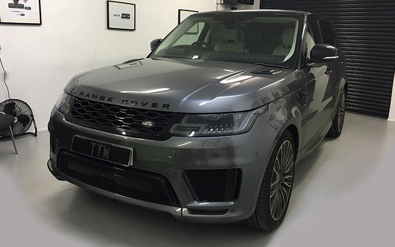 Range Rover Dash Camera Installations