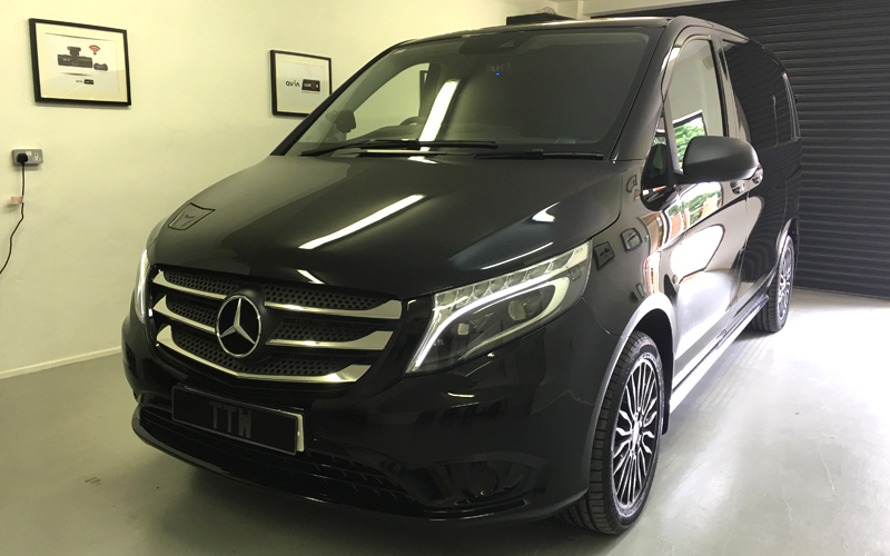 Merc Vito Dash camera Installations