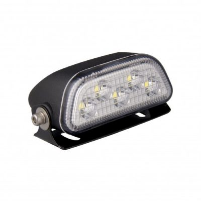 Low Profile Flood Lamp – Black