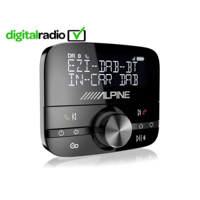 Alpine EZi-DAB-BT is an In-Car device further enhancing your driving experience providing DAB radio