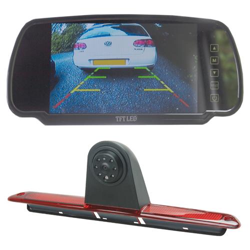 TTW Commercial Reversing Camera Kit - Merc Sprinter