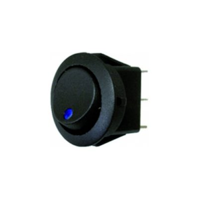 Rocker Switch - Blue - LED