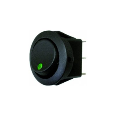 Rocker Switch - Green - LED