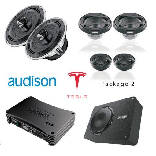 Testla Model s - Audio Upgrade option 2 - TTW Installations