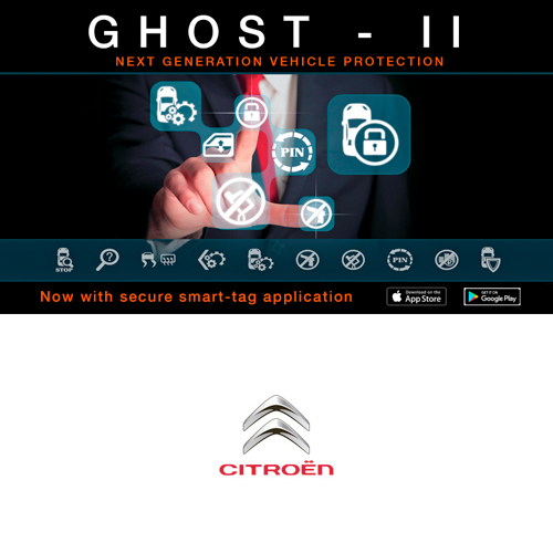Autowatch Ghost 2 CANbus Immobiliser - Citroen