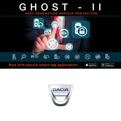Autowatch Ghost 2 CANbus Immobiliser - Dacia