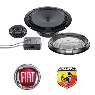 Fiat 500- opt 1- Car Audio Upgrades