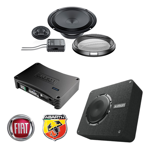 Fiat 500/595/Abarth – Audio Package Option 2 - TTW ...