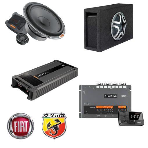 Fiat 500- Abarth Car Audio Upgrade - Hertz - TTW Installations