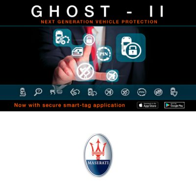 Autowatch Ghost 2 CANbus Immobiliser - Maserati