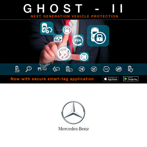 Autowatch Ghost 2 CANbus Immobiliser - Mercedes