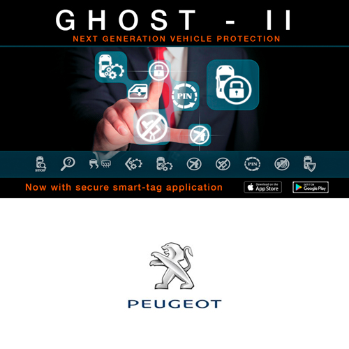 Autowatch Ghost 2 CANbus Immobiliser - Peugeot