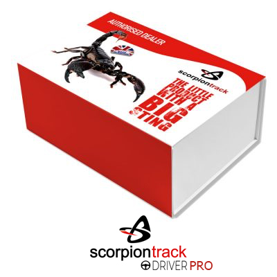 ScorpionTrack - ST60 (Waterproof) – Agricultural vehicles & Plant machinery – CAT 6* Thatcham Accredited, Insurance Approved