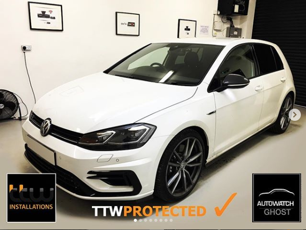 VW Golf R - Autowatch Ghost 2 Protected By TTW Installations