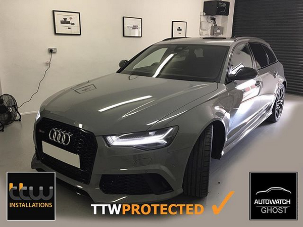 Audi RS6  - Autowatch Ghost 2 - Nottingham - Keyles Theft Protection