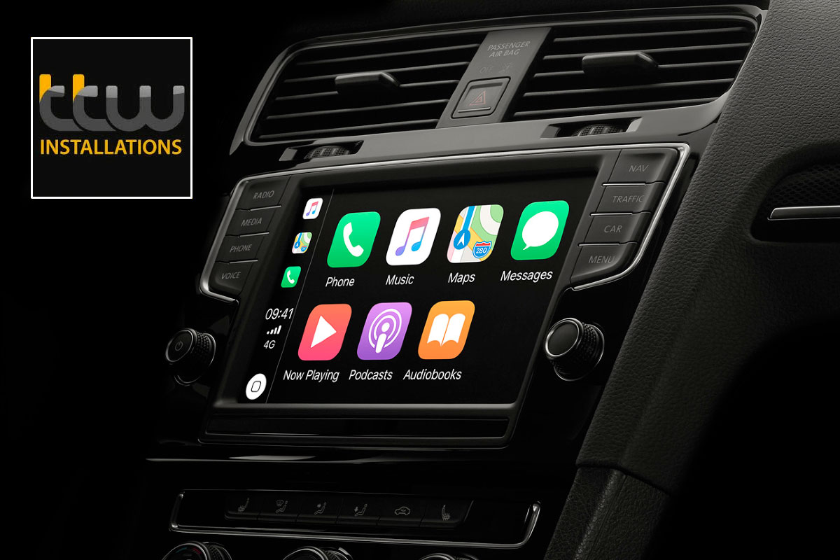 Apple carplay Upgrades - TTW Installations UK