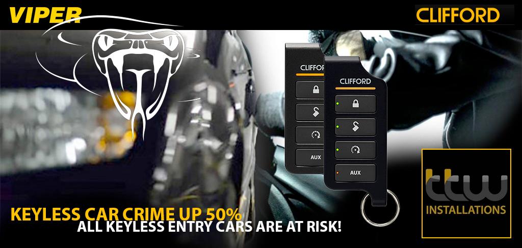 Clifford & Viper Security - Alarm Systems  - TTW Installations UK - Nottingham - Derby