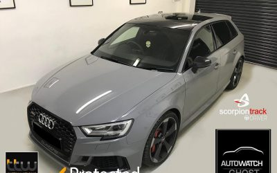 Autowatch Ghost 2 Installed – Audi RS3