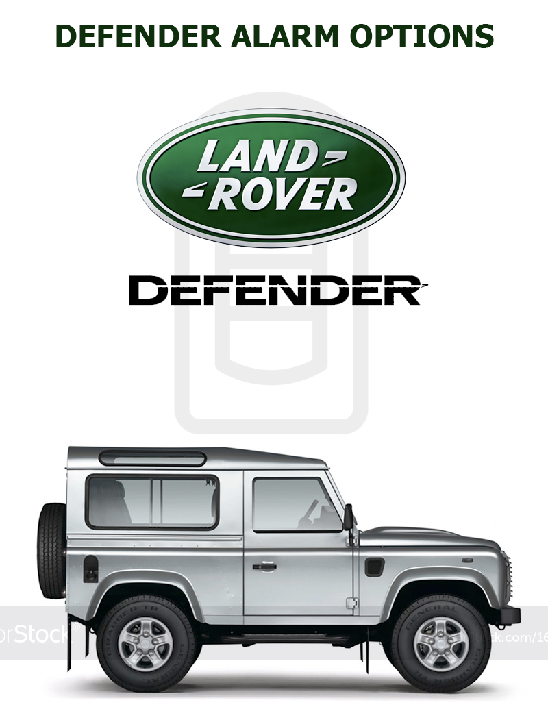 Land Rover Defender Alarm Specialists - TTW Installations