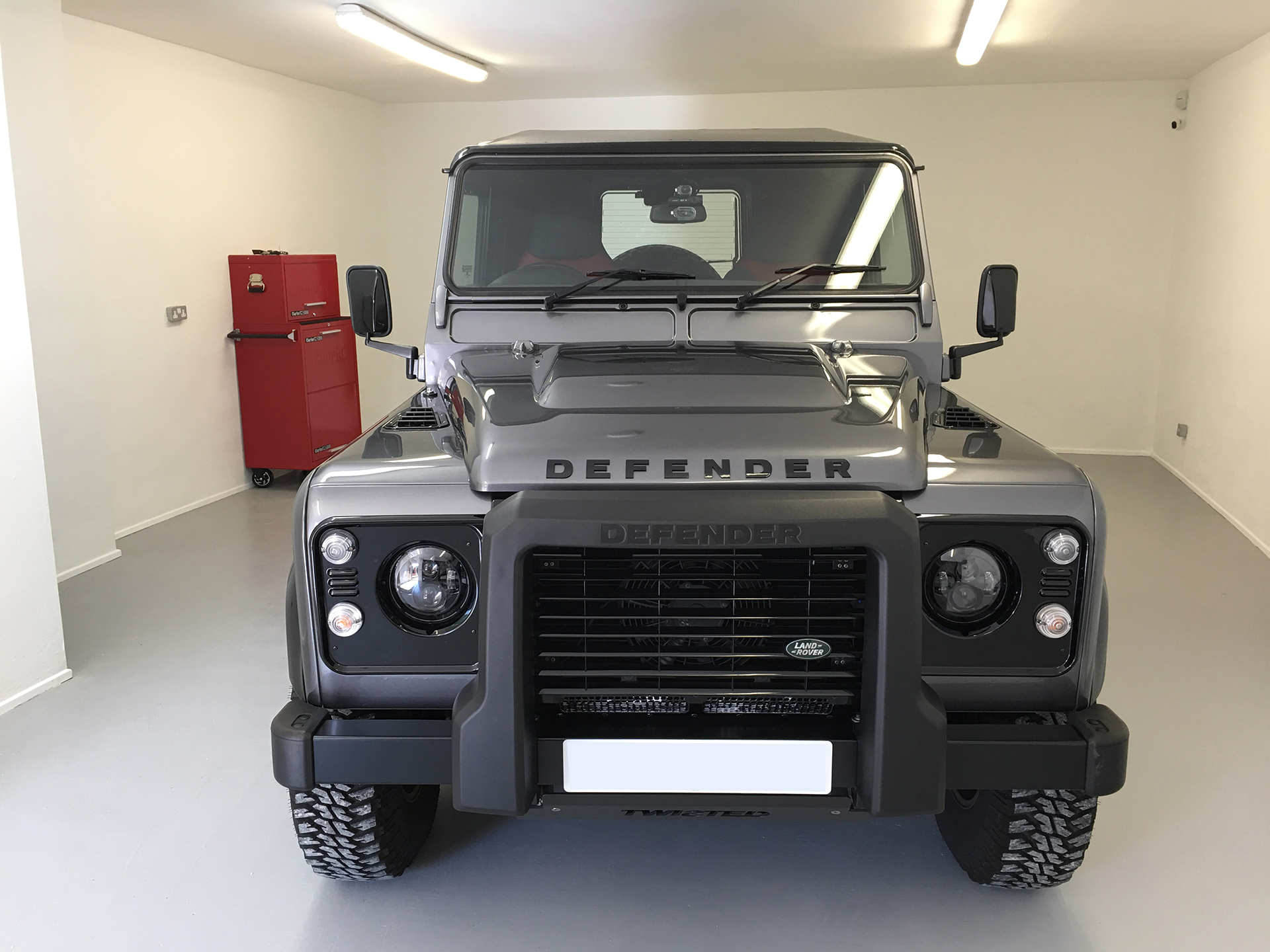 Land Rover Defender Security Specialists - TTW Installations