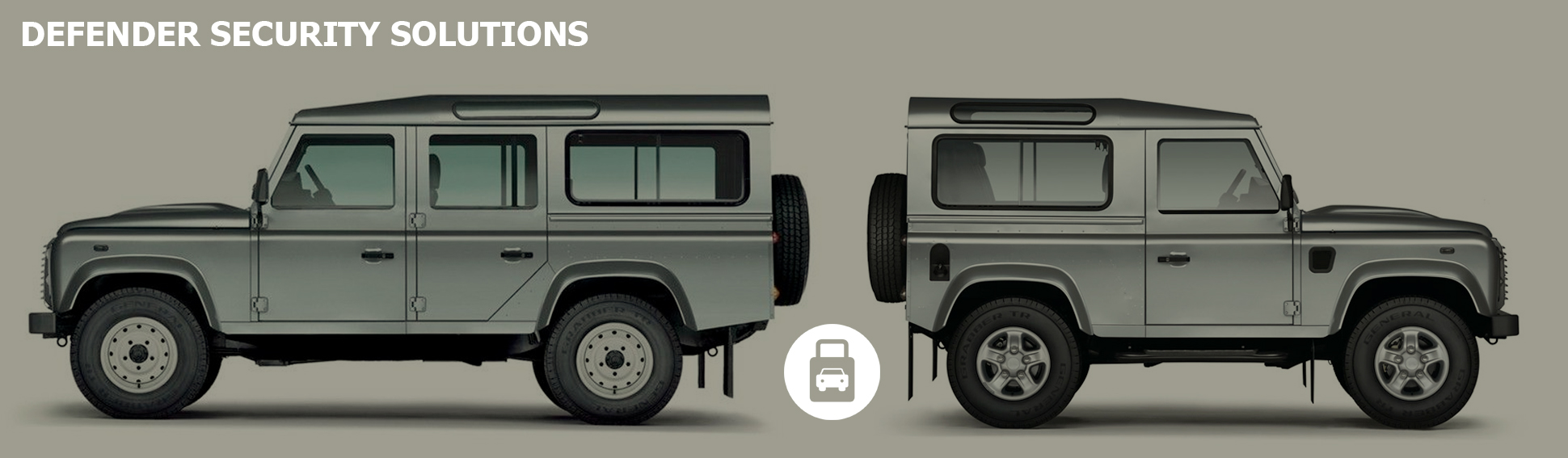 Land Rover Defender 110 - 90 Security Solutions - TTW Installations