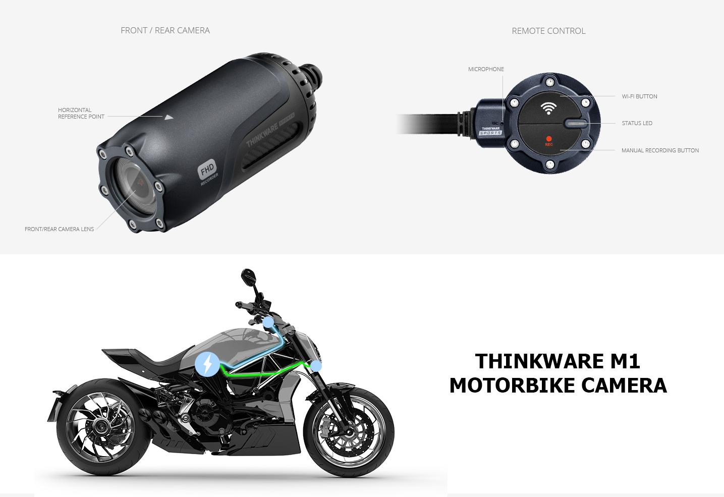 Thinkware M1 - Motorbike Camera