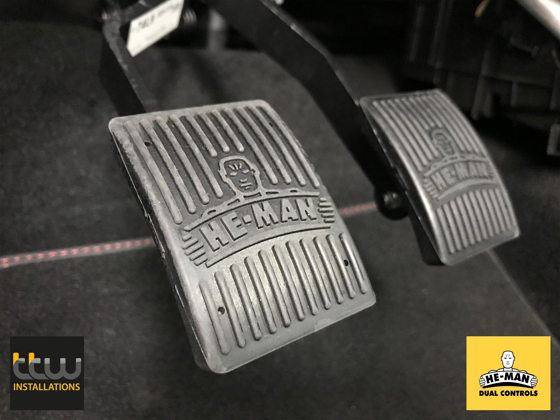 He-Man Dual Controls - Supply & Installation - Nottingham - Derby