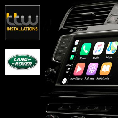 Land Rover Android Navigation with CarPlay and Android Auto