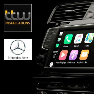 Mercedes CarPlay retrofit solution