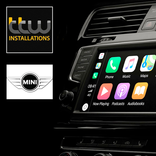 Wireless CarPlay Navigation Camera Interface for BMW Mini