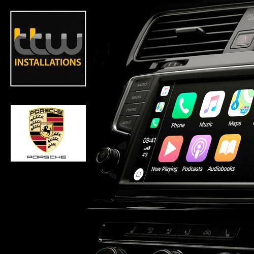 Wireless Apple CarPlay for Porsche PCM 3.1 Macan Boxster Cayenne Cayman 911
