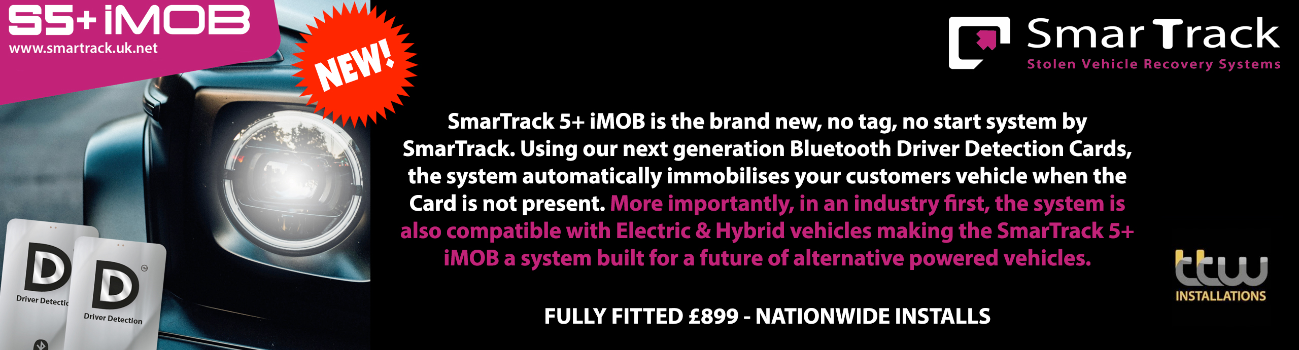 The Ultimate S5 Tracking System Has Arrived Introducing SmarTrack 5+ iMOB
