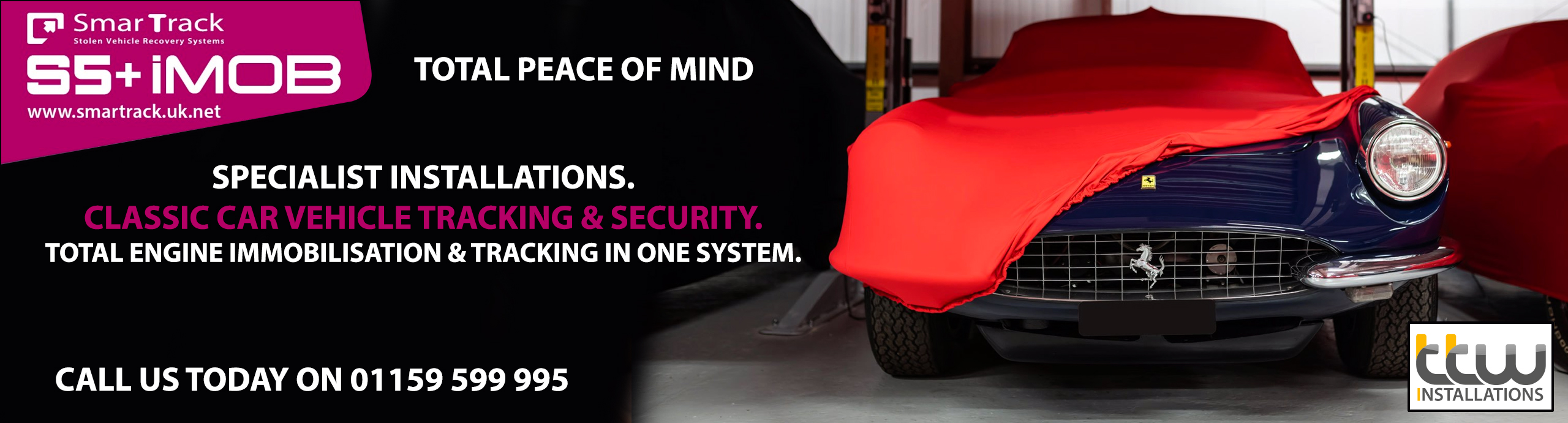 The Ultimate Classic car Security - Vehicle Tracking 24H & Full Vehicle Immobilisation