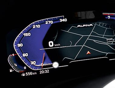 alpina-Digital-Cluster-Coding coding