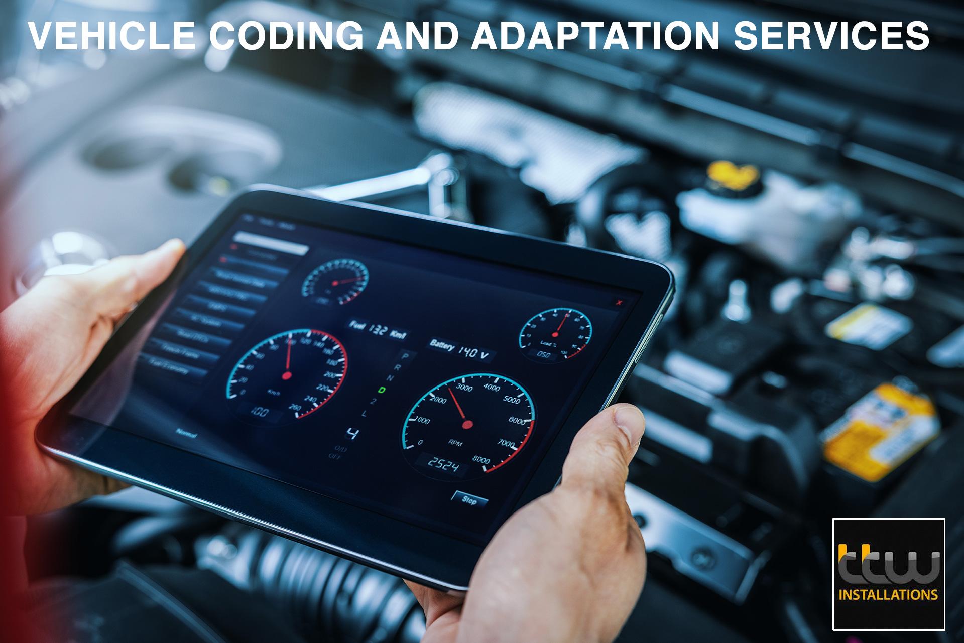TTW – Vehicle CodingServices. VEHICLE CODING & ADAPTATION SPECIALIST SERVICES – NOTTINGHAM – EAST MIDLANDS – UK